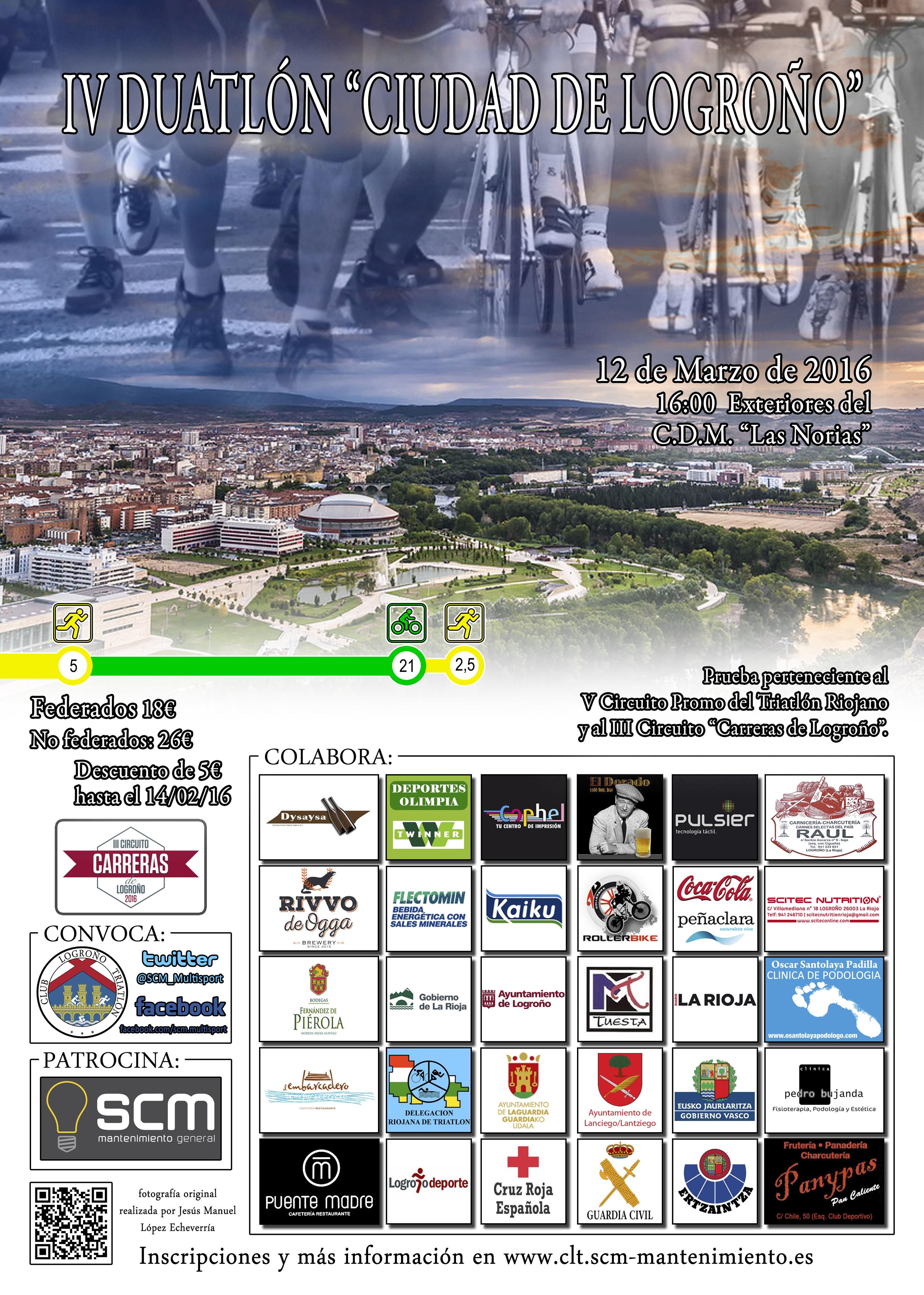 """IV Duatlón """"Ciudad de Logroño"""""""