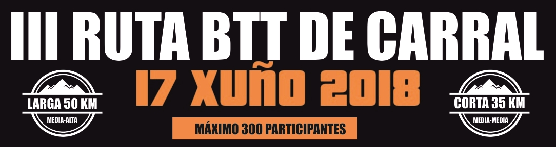III BTT DE CARRAL