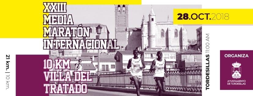 XXIII Media Maratón Internacional y 10 KM Villa del Tratado de Tordesillas