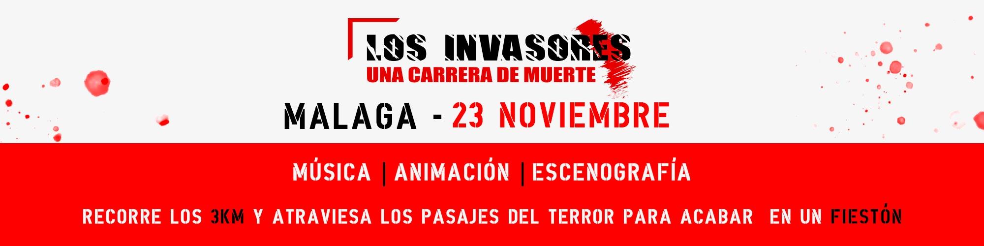 LOS INVASORES en Málaga 1st Edition 28-09-2019