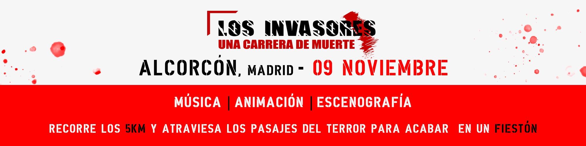 LOS INVASORES en Alcorcón 1st Edition 09-11-2019