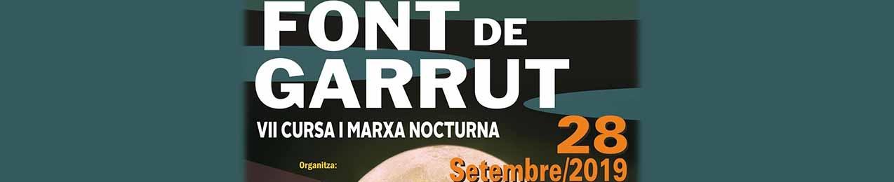 VI CARRERA Y MARCHA NOCTURNA DE MONTAÑA DE LA VALL D'UIXÓ,  FONT DE GARRUT