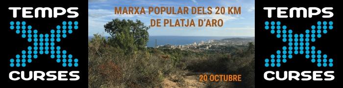 MARXA POPULAR DELS 20KM DE PLATJA D