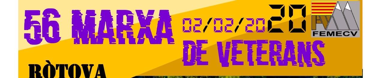 56 Marxa de Veterans de la comunitat Valenciana, Ròtova, FEMECV 2020