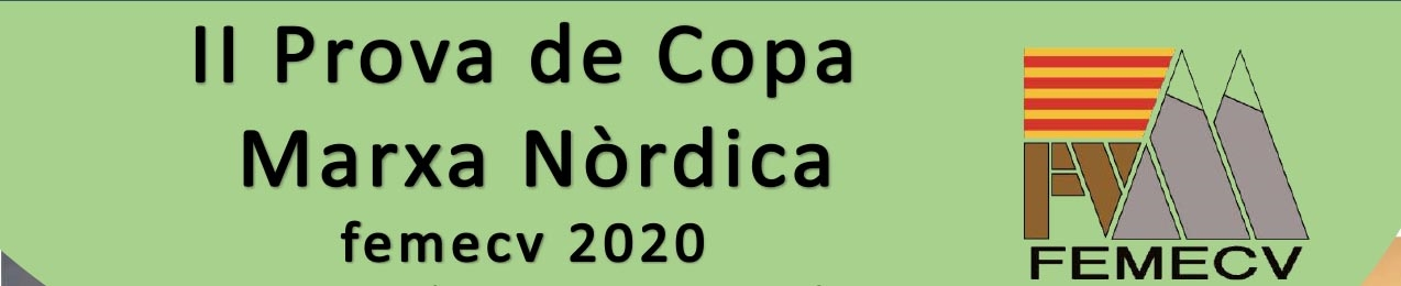II PROVA DE COPA MARXA NÒRDICA, TAVERNES DE LA VALLDIGNA, FEMECV 2020