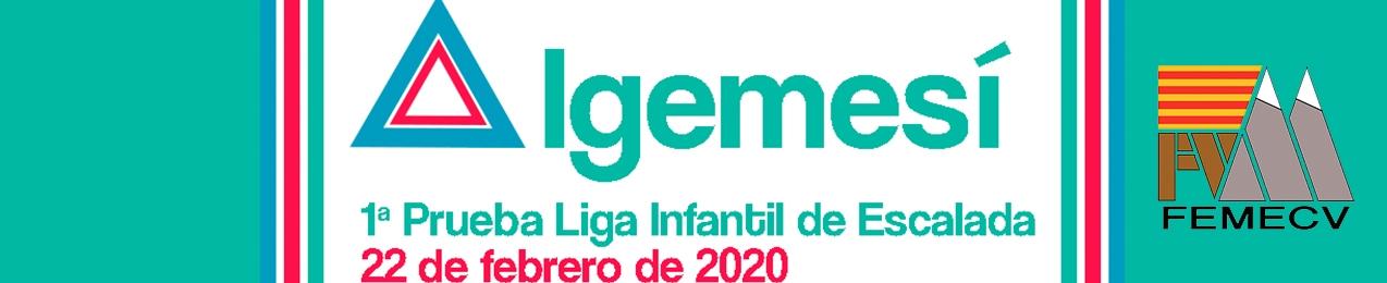 1ª Prueba Liga Infantil de Escalada FEMECV 2020, Algemesí