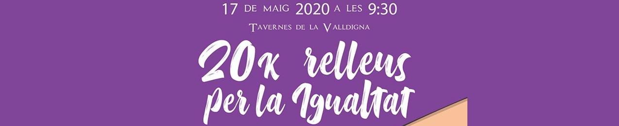 20K RELLEUS PER LA IGUALTAT TAVERNES 2020