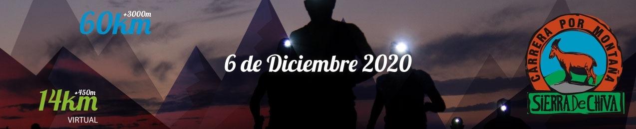Carrera X Montaña Sierra de Chiva. XI edición. 2020