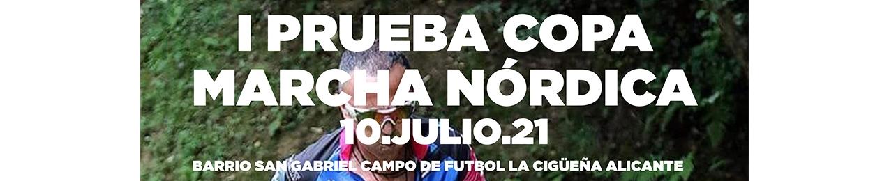 1ª Prueba Copa de Marcha Nórdica, FEMECV 2021, Alicante