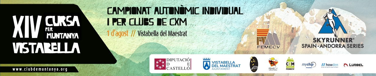 Campionat Autonòmic i per clubs de CXM. 1er Campionat en Edat Escolar, FEMECV 2021. XIV Cursa per muntanya Vistabella.