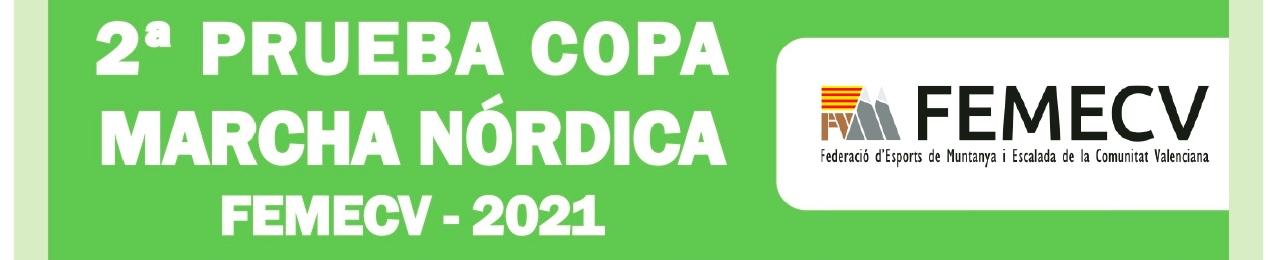 2ª Prueba Copa de Marcha Nórdica, FEMECV 2021, Xàtiva