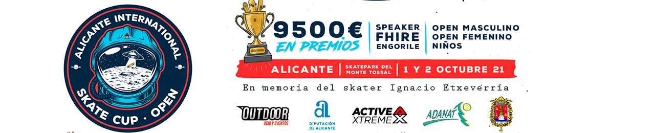 Alicante International Skate Cup, Open 2021