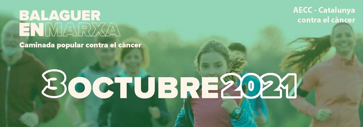 Balaguer en Marxa: II Caminada contra el càncer