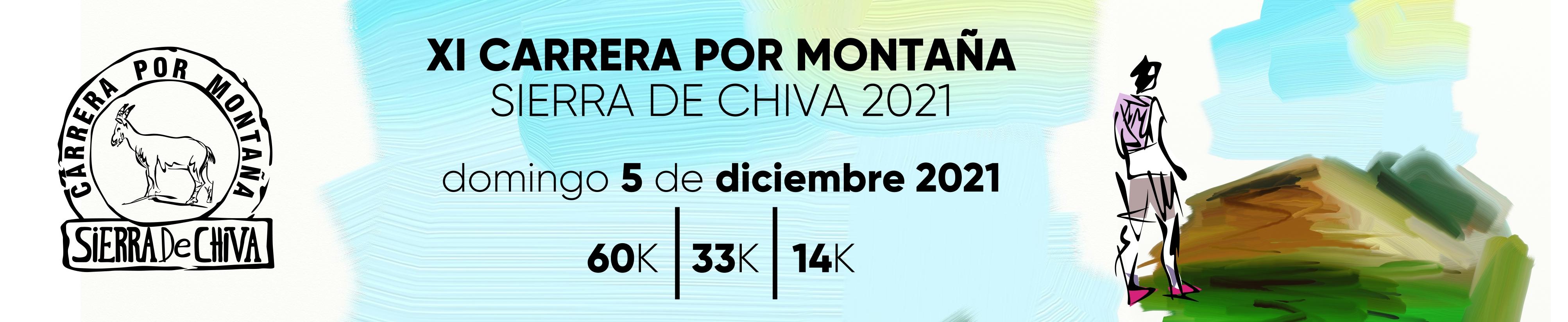Carrera X Montaña Sierra de Chiva. XI edición. 2021