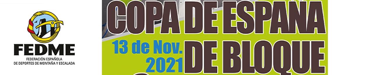 I Prueba de la Copa de España de Escalada de Bloque FEDME 2021, Plasencia
