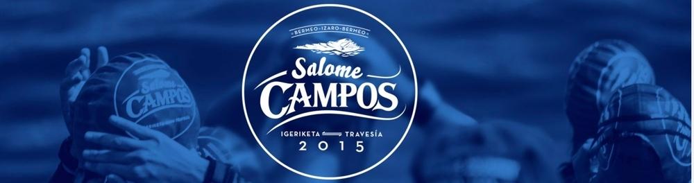 III. Salome Campos, Travesía natación