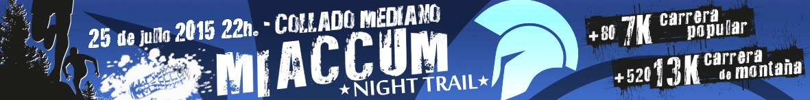 VI Nigth-Trail MIACCUM