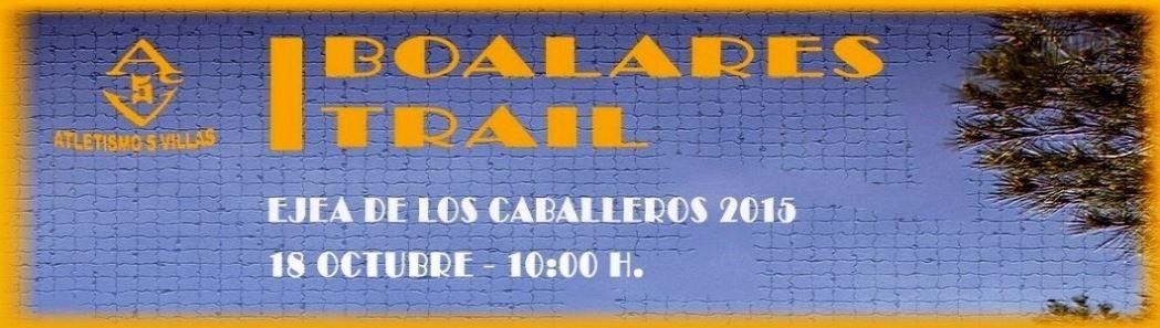 I BOALARES TRAIL