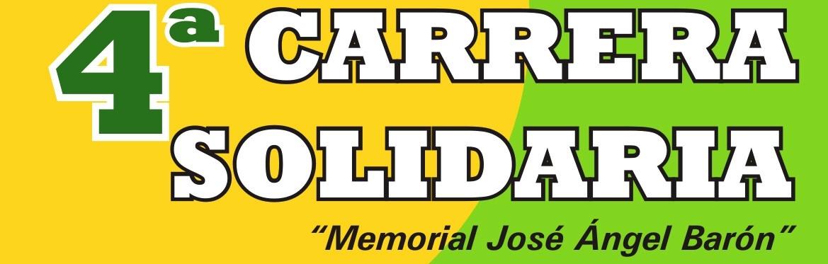 4º CARRERA SOLIDARIA SARIÑENA - AECC SARIÑENA MONEGROS- MEMORIAL JOSE ÁNGEL BARON