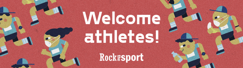 Welcome athletes