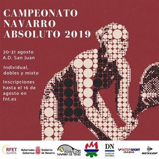 CAMPEONATO NAVARRO ABSOLUTO 2019