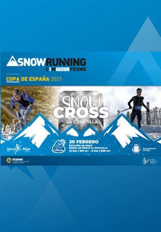 Final Copa de España Snowrunning FEDME - Snowcross La Covatilla