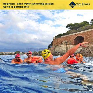 Iniciación a la natación en aguas abiertas en Cadaqués