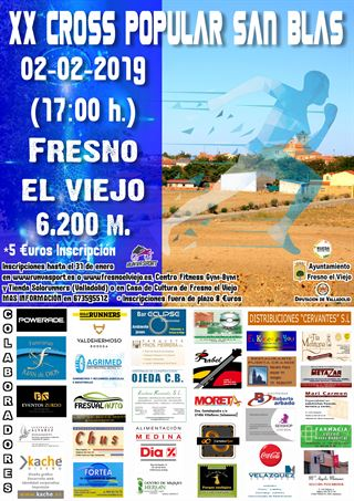 "XX Cross Popular San Blas ""Fresno el Viejo"""