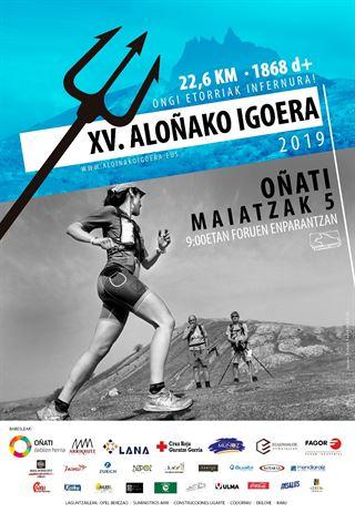 XV. ALOÑAKO IGOERA 2019