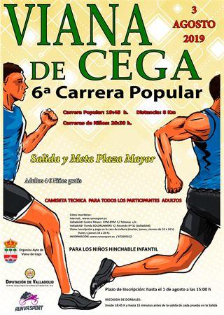 6ª Carrera Popular Viana de Cega