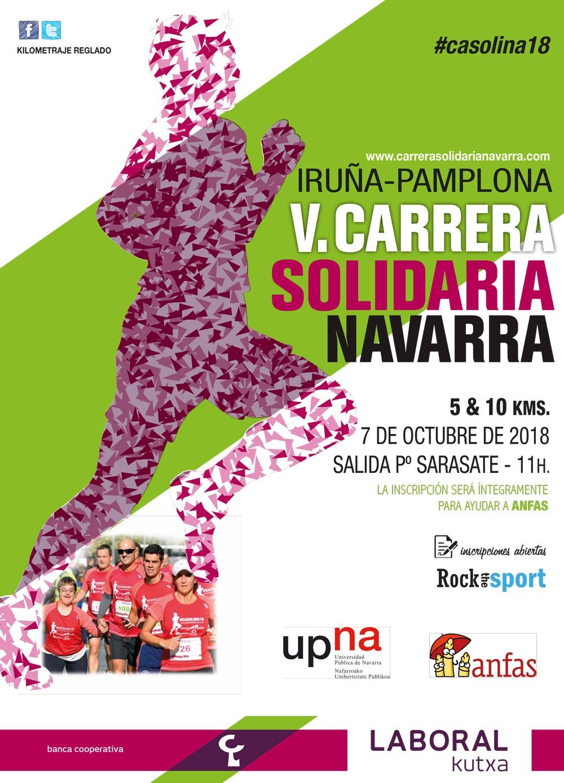 Carrera Solidaria Navarra 5&10 Km 2018