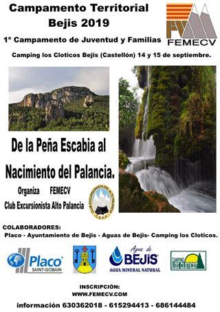 Campamento territorial Bejis 2019, 1er Campamento de Juventud y Familias, Bejís, Castellón