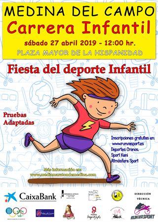 Mini Maratón Infantil _Medina Del Campo-2019