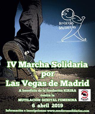 IV Marcha solidaria por Las Vegas de Madrid