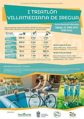 II Triatlón Infantil de Villamediana de Iregua (JJDD)