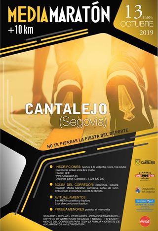 "Media Maratón Popular y 10 km ""Cantalejo"""
