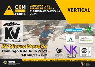 Copa de España CXM Vertical FEDME 2021, KV Sierra Nevada