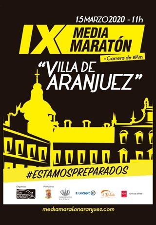 Virtual, IX Media Maratón Villa de Aranjuez y 8km
