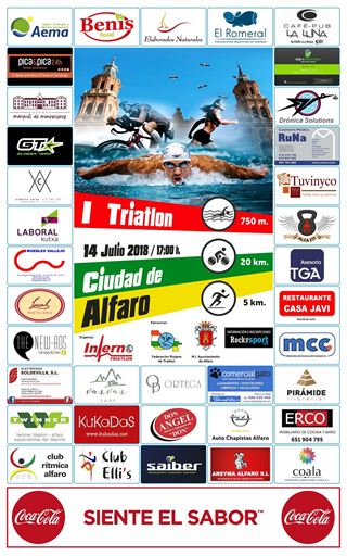 """I Triatlón """"Ciudad de Alfaro"""""""