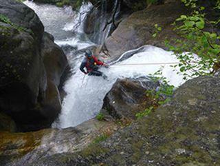 Curso de descenso de barrancos - Nivel I