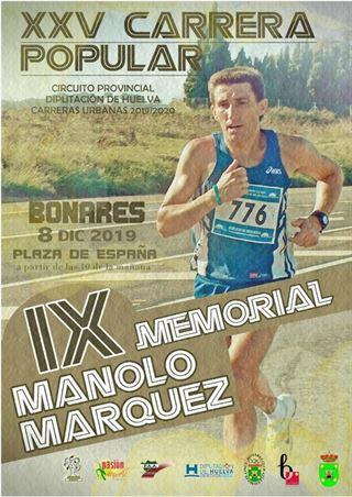 XXV CARRERA POPULAR DE BONARES IX MEMORIAL MANOLO MARQUEZ