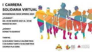Carrera Solidaria Virtual Boomerang Seed Primavera 2021