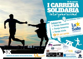 """I carrera Solidaria Intergeneracional """"la Salle"""""""