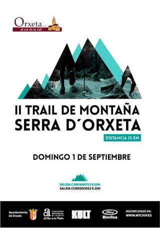 II Trail Serra d'Orxeta