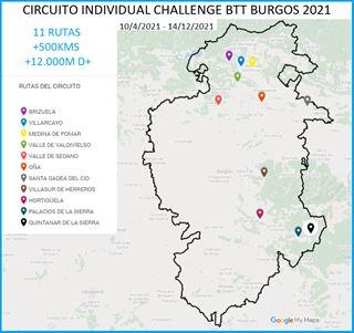 CIRCUITO INDIVIDUAL CHALLENGE BTT BURGOS 2021