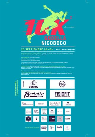 XVIII 10k Godella Nicoboco