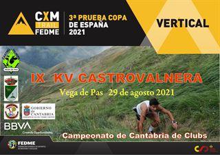 Copa de España CXM Vertical FEDME 2021, CDB KV CASTRO VALNERA - VEGA DE PAS