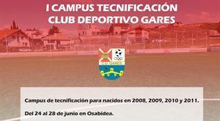 I Campus Club Deportivo Gares