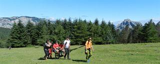 Curso de técnicas de conducción a personas con discapacidad en montaña