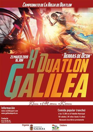 """X Duatlón de Galilea """"Tierras de Ocón"""" y VII Duatlón para Renacuajos"""